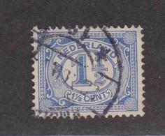 PAYS-BAS  (Y&T) 1899/1913 - N°67   *     *    1 1/2c.   Obli () - Used Stamps