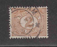 PAYS-BAS  (Y&T) 1899/1913 - N°68   *     *    2c.   Obli () - Used Stamps