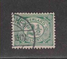 PAYS-BAS  (Y&T) 1899/1913 - N°69   *     *    2 1/2c.   Obli () - Used Stamps