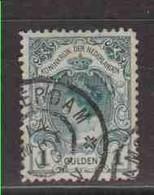 PAYS-BAS  (Y&T) 1899/1913 - N°61   *  Wilhelmine   *     1g.   Obli () - Used Stamps