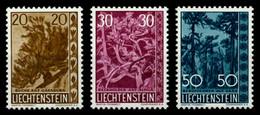 LIECHTENSTEIN 1960 Nr 399-401 Postfrisch X6F5062 - Unused Stamps