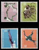 LIECHTENSTEIN 1958 Nr 365-368 Postfrisch X6F6AC6 - Unused Stamps