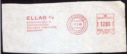 Danmark - 1988 - Fragment Letter - ELLAB - A1RR2 - Cartas