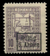 BES. 1WK D-MV RUMÄNIEN Nr F7 4 Ungebraucht X741C6A - Occupation 1914-18