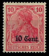 BES 1WK ETAPPE WEST Nr 4a Ungebraucht X7794E2 - Occupation 1914-18