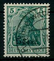 BES 1WK ETAPPE WEST Nr 2a Gestempelt X779562 - Occupation 1914-18