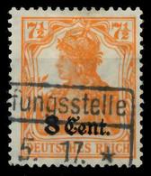 BES 1WK ETAPPE WEST Nr 3a Gestempelt X7795AE - Occupation 1914-18