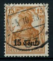 BES 1WK ETAPPE WEST Nr 5 Gestempelt X779616 - Occupation 1914-18