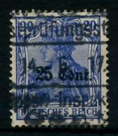 BES 1WK ETAPPE WEST Nr 6aII Gestempelt X7796BA - Occupation 1914-18