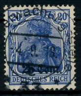 BES 1WK ETAPPE WEST Nr 6c Zentrisch Gestempelt X7796B2 - Occupation 1914-18