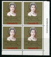 """Canada MNH 1973 Royal Visit """"bronze""""  (brighter Gold) Shade - Nuevos"""