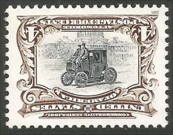 912 USA Inverted Center Electric Automobile MNH ** Neuf SC (USA-292) - Autos