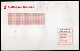Argentina - Circa 2000 - Lettre - Courrier Privé NINO SRL - Circulé - Envoyé En Bs As - Scotiabank Quilmes - A1RR2 - Cartas