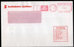 Argentina - Circa 2000 - Lettre - Courrier Privé Metropolitan Post  - Envoyé En Bs As - Scotiabank Quilmes - A1RR2 - Cartas