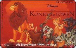 Germany - 1994 - DE-S 45/94 2410  - DM 12 - Disney's Der König Der Löwen 1 - Used - Look Scans - Disney