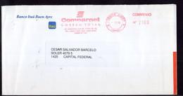 Argentina - 1999 - Lettre - Courrier Privé Comparnet - Circulé - Envoyé En Buenos Aires - Banco Itaú - A1RR2 - Cartas
