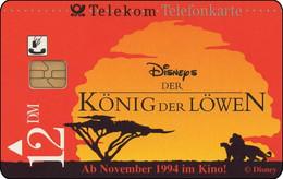 Germany - 1994 - DE-S 46/94-2409  - DM 12 - Disney's Der König Der Löwen 2 - Used - Look Scans - Disney