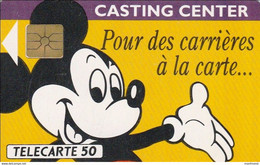 France - 1991 - F201 - MICKEY CASTING CENTER - Used - Look Scans - Disney