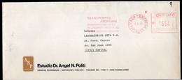 Argentina - 1990 - Letter - Courrier Privé Transportes Andreani - Circulé - Estudio - Envoyé En Buenos Aires  - A1RR2 - Cartas