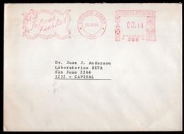 Argentina - 1986 - Lettre - Cachet Spécial - Affranchissement Mécanique - Bandeleta Parlante - A1RR2 - Cartas