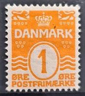 DENMARK 1906 - MNH - Sc# 57 - 1o - Unused Stamps
