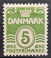 DENMARK 1933 - MLH - Sc# 223 - 5o - Nuevos