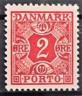 DENMARK 1934 - MNH - Sc# J26 - 2o - Nuevos
