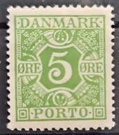 DENMARK 1934 - MNH - Sc# J27 - 5o - Nuevos