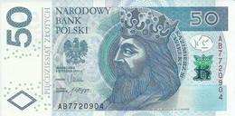 POLAND P. 185a 50 Z 2012 UNC - Poland