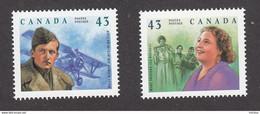 Canada, MNH, 1994, #1525-1526, - Nuevos