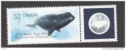 Canada, 2007, MNH, Animaux En Voie De Disparition, Baleine, Whale, Endangered Species - Nuevos