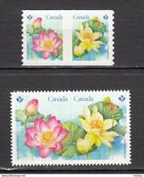 Canada, 2018, MNH, Nénufar, Nenuphar, Nympheas, Fleur, Flower, Die Cut - Nuevos