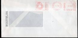 Argentina - 1988 - Lettre - Cachet Spécial - Affranchissement Mécanique - Equitel - Siemens - A1RR2 - Cartas