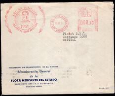 Argentina - 1950 - Lettre - Circulé - Envoyé En Buenos Aires - San Martin - Año Del Libertador - A1RR2 - Briefe U. Dokumente