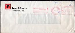 Argentina - 1990 - Lettre - Cachet Spécial - Affranchissement Mécanique - Tecnifos SA - A1RR2 - Cartas