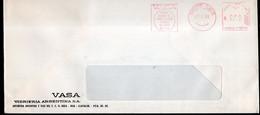 Argentina - 1988 - Lettre - Cachet Spécial - Affranchissement Mécanique - VASA Vidrieria Argentina SA - A1RR2 - Cartas