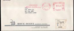 Argentina - 1987 - Lettre - Cachet Spécial - Affranchissement Mécanique - Roux-Ocefa SA - A1RR2 - Cartas