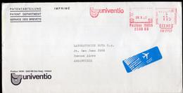 Argentina - 1987 - Lettre - Cachet Spécial - Affranchissement Mécanique - Univentio - A1RR2 - Cartas