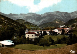 Saint Julien En Quint Vue Generale Et Montagne Du Vercors  1973    CPM Ou CPSM - Autres Communes