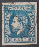 N°28 Oblitéré GIURGIU - 1858-1880 Moldavia & Principality
