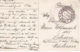 5382- -- AK  OPATIJA  K.U.K.  POLA 1917 - Croatie
