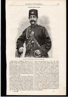 TURQUIE - Nasser-Eddin Chah -  Article Papier Coupure De Presse  - Année 1896 - Unclassified