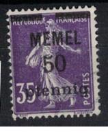 MEMEL             N°     YVERT   23     OBLITERE       ( Ob  9/52 ) - Used Stamps