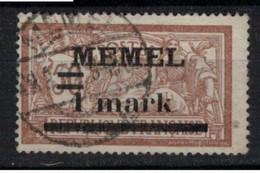 MEMEL             N°     YVERT   26     OBLITERE       ( Ob  9/52 ) - Used Stamps