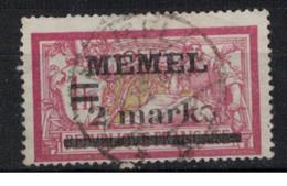 MEMEL             N°     YVERT   28   OBLITERE       ( Ob  9/52 ) - Used Stamps