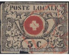 Ref. 641981 * USED * - SWITZERLAND. 1850. SWITZERLAND COAT OF ARMS . ESCUDO DE SUIZA - 1843-1852 Federale & Kantonnale Postzegels