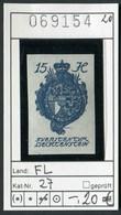 Liechtenstein - Michel 27 - ** Mnh Neuf Postfris - - Unused Stamps