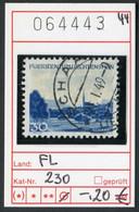Liechtenstein - Michel 230 - Oo Oblit. Used Gebruikt - Used Stamps