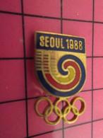 1620 Pin's Pins / Beau Et Rare : Thème JEUX OLYMPIQUES / SEOUL 1988 COQUILLAGE ESCARGOT MULTICOLORE - Giochi Olimpici
