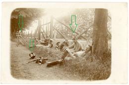14-18.WWI Fotokarte-Deutsche Soldaten - Radfahrer Kompanie Fahrrad Velo  Tolle Aufnahme ! 1-5 - 1914-18